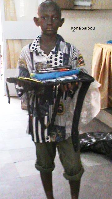 Koné Saibou marraine F.F.