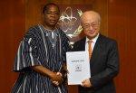 Coopération multilatérale : L'Ambassadeur KERE chez le Directeur Général de l'Agence Internationale de l'Energie Atomique