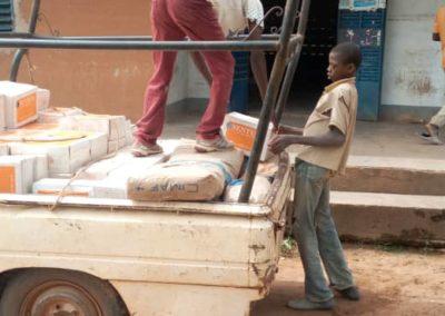 livraison du matériel