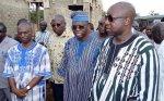 11 décembre 2017 à Gaoua : Le Premier ministre Paul Kaba Thiéba a visité les infrastructures