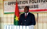 Burkina Faso : L'Opposition invite le pouvoir à se mettre réellement au travail en 2018